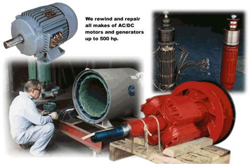 Electric motors and generator service for Electric motor repair portland oregon